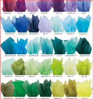 Color Tissue Paper - Solid