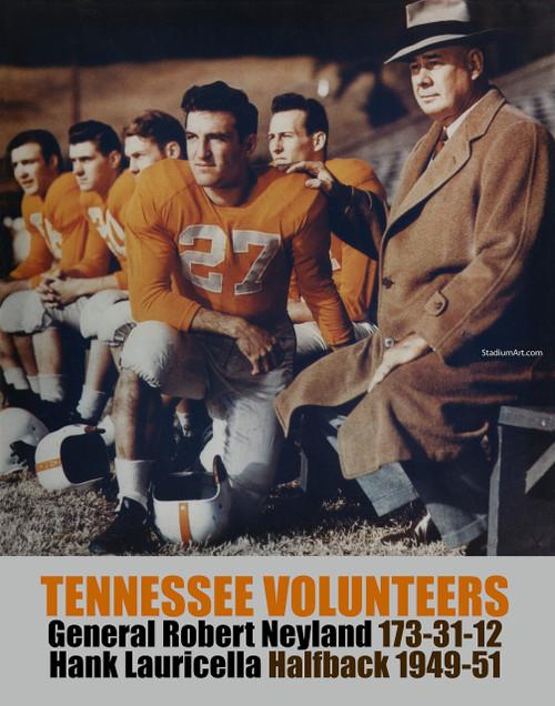 Tennessee Volunteers General Neyland UT Vols NCAA College Football CHOICES