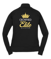 Crowned Elite Warm Up Jacket Back