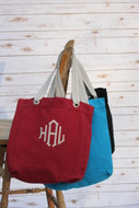 Monogram Allie Tote Bag