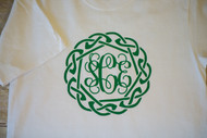 Celtic and Monogrammed Tee