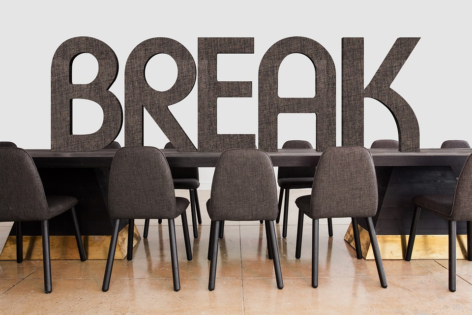 Encourage Breaks Within the Workplace
