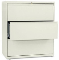 "HON 36"" 3 Drawer Lateral File Cabinet [883L] -1"