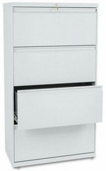 "HON 36"" 4 Drawer Lateral File Cabinet [884L] -1"
