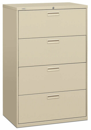 "HON 36"" 4 Drawer Lateral Filing Cabinet [584L] -1"