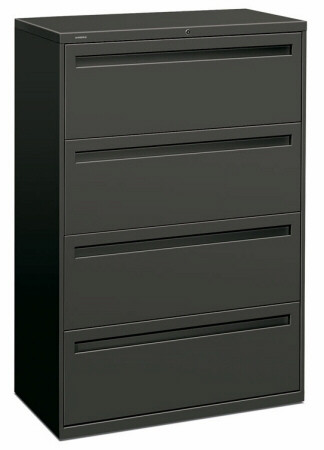 HON 700 Series 4 Drawer Lateral Filing Cabinet [784L] -1