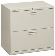 "30"" 2 Drawer HON Lateral File Cabinet [572L] -1"