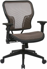 Latte Air Grid Mesh Back Office Chair [213-38N1F3] -1