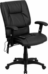 Mid Back LeatherSoft Office Massage Chair [BT-2770P-GG] -1