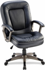 Lorell Bonded Leather Managers Chair [69519] -1