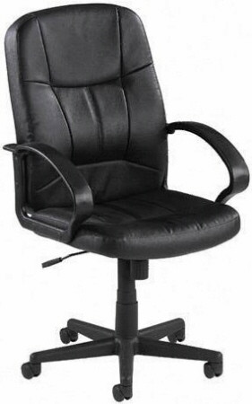 Lorell Chadwick Series Mid Back Office Chair [60121] -1