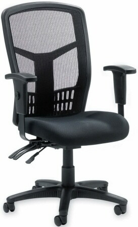lorell high back mesh office chair [86200]