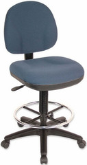 Lorell Millenia Height Adjustable Stool [80010] -1