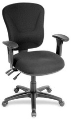 Lorell Multi-Function Mid Back Task Chair [66128] -1