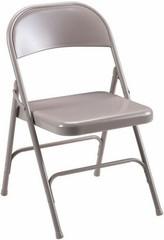 Lorell Steel Seat Metal Folding Chairs [62500] -1