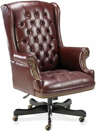 Traditional Wing Back Executive Office Chair [60603] -1
