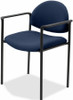 Lorell Upholstered Stacking Chairs [69508] -2
