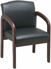 Lorell Wooden Frame Office Side Chair [60470] -1