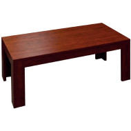 Mahogany Finish Modern Coffee Table [N48-M] -1
