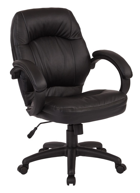 Managers Faux Leather Office Chair [FL605] -1