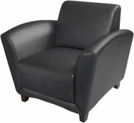 Mayline Aspire Series Leather Reception Chair [VCC1] -1