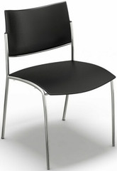 Mayline Contemporary Plastic Stacking Chairs [ESC2] -1