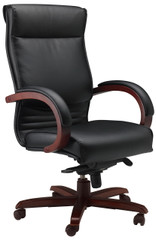 Mayline Corsica High Back Office Chair [CS] -Sierra Cherry