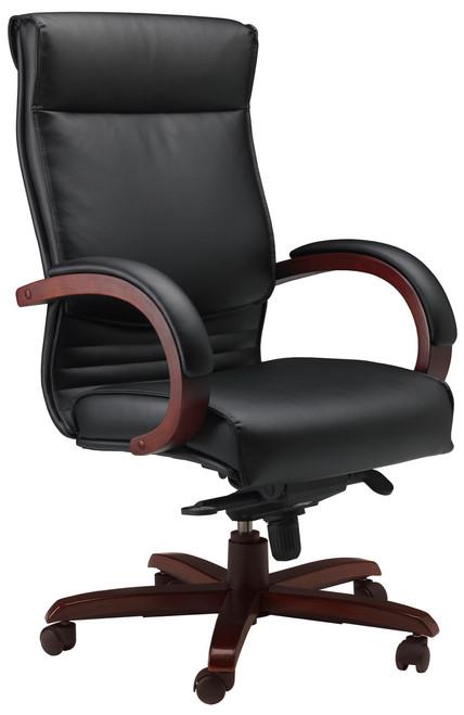 Mayline Corsica High Back Office Chair [CS] -Sierra Cherry