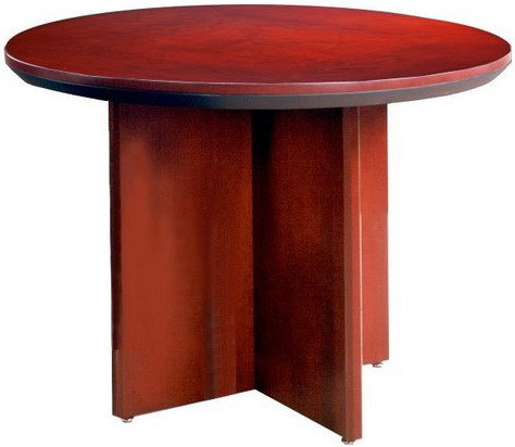 Mayline Corsica Series Round Conference Table [CTRND]  1