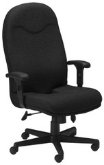 Mayline Comfort Series Executive Coccyx Chair [9413AG] -Black