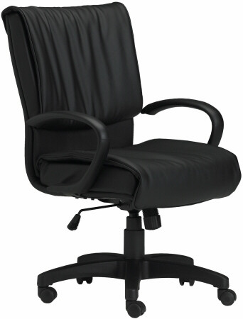 Mayline Mercado Series Leather Desk Chair [2547] -1