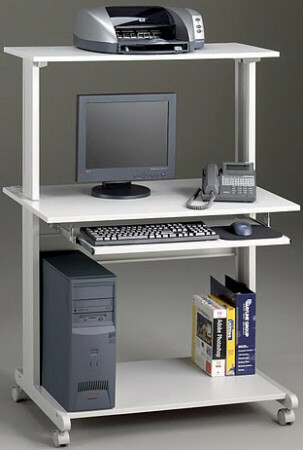 Mayline Mobile Computer Cart [8350MR] -1