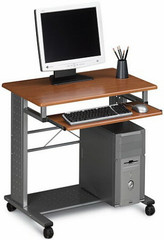 Mayline Contemporary Mobile Office Desk [945] -1