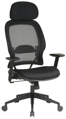Professional Air Grid Chair with Mesh Seat [55403] -1