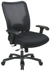 Office Star Mesh Big And Tall Office Chair [75 37A773]  1
