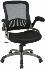 Screen Back Mesh Seat Office Chair with Lumbar Support [EM35207] -1