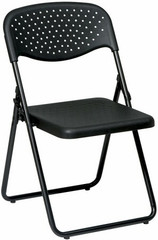 Metal Frame Plastic Folding Chairs [FC8000NP] -1