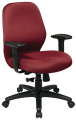 Office Star Mid Back Computer Task Chair with Arms [3121] -1
