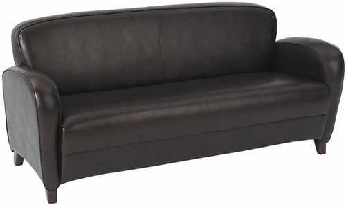 Eco Leather Mocha Lounge Sofa [SL2373] -1