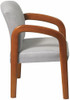 Office Guest Chair with Multi Wood Finish [WD380] -2