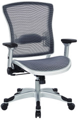 Office Star All Mesh Desk Chair with Flip Arms [317-66C61F6] -2