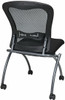 Office Star Armless Folding Mesh Chairs [84220] -2