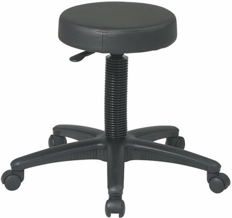 Office Star Padded Backless Stool St215