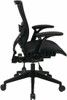 Office Star Air Grid Black Mesh Office Chair [67-77N9G5] -3