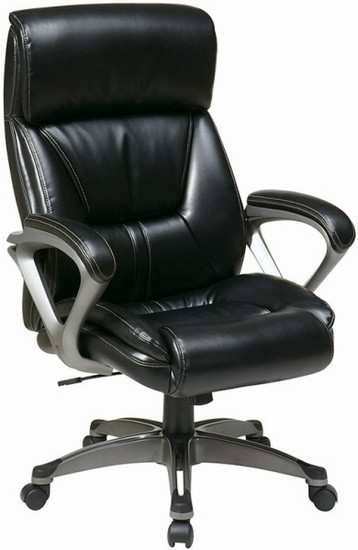 office star eco leather high back chair ech89307
