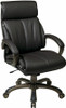 Office Star Executive Faux Leather Office Chair [ECH68801] -1