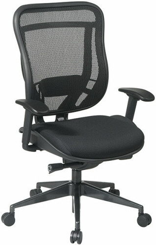 Office Star High Back Mesh Office Chair [818-31G9C18P] -1