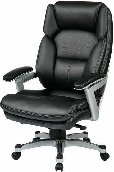Office Star Chairs office star eco-leather executive chair - leather executive chairs