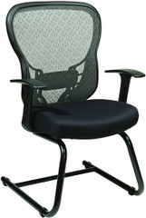 Office Star Mesh Back Sled Base Guest Chair [529-3R2V30] -1