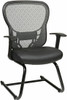 Office Star Mesh Back Sled Base Guest Chair [529-3R2V30] -2